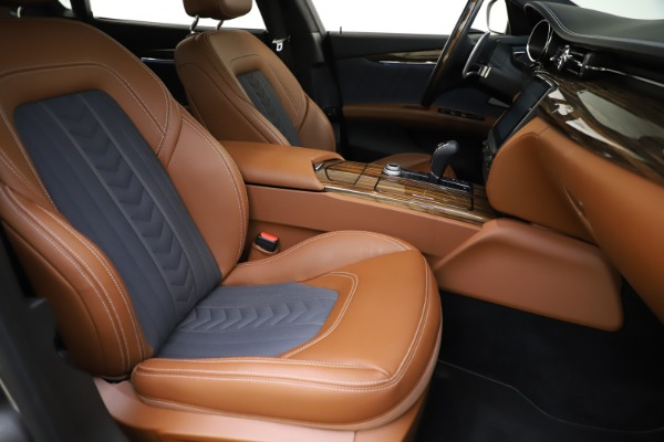 Used 2017 Maserati Quattroporte S Q4 GranLusso for sale $59,900 at Bugatti of Greenwich in Greenwich CT 06830 24