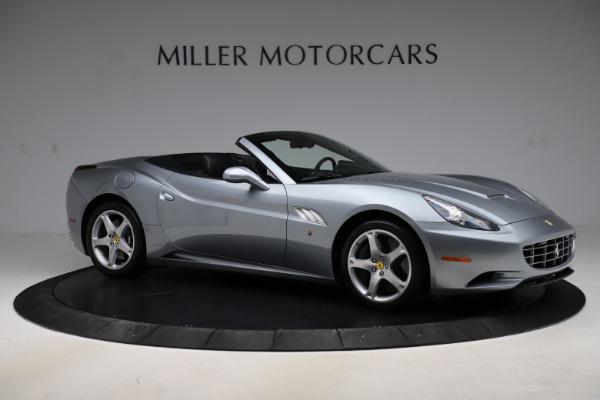 Used 2013 Ferrari California 30 for sale $103,900 at Bugatti of Greenwich in Greenwich CT 06830 10