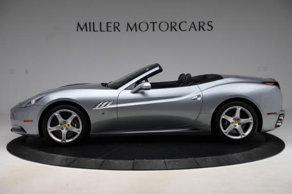 Used 2013 Ferrari California 30 for sale $103,900 at Bugatti of Greenwich in Greenwich CT 06830 3