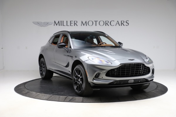 New 2021 Aston Martin DBX for sale $229,486 at Bugatti of Greenwich in Greenwich CT 06830 10