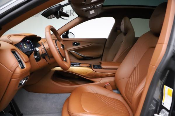 New 2021 Aston Martin DBX SUV for sale $229,486 at Bugatti of Greenwich in Greenwich CT 06830 12
