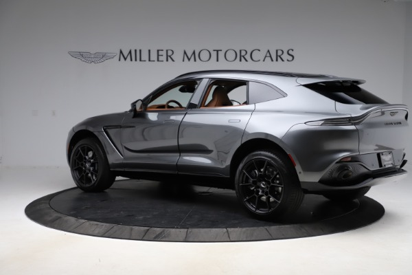 New 2021 Aston Martin DBX for sale $229,486 at Bugatti of Greenwich in Greenwich CT 06830 3
