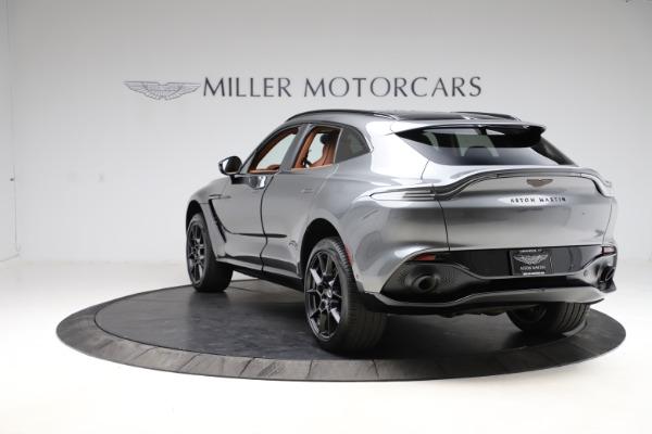 New 2021 Aston Martin DBX SUV for sale $229,486 at Bugatti of Greenwich in Greenwich CT 06830 4