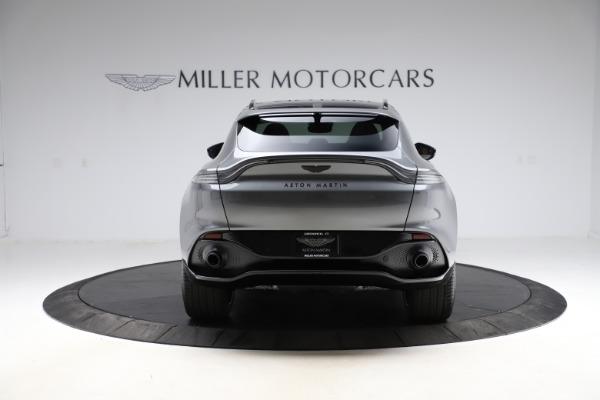 New 2021 Aston Martin DBX SUV for sale $229,486 at Bugatti of Greenwich in Greenwich CT 06830 5