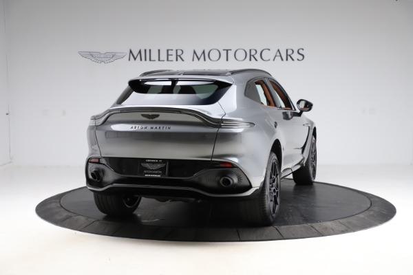New 2021 Aston Martin DBX SUV for sale $229,486 at Bugatti of Greenwich in Greenwich CT 06830 6