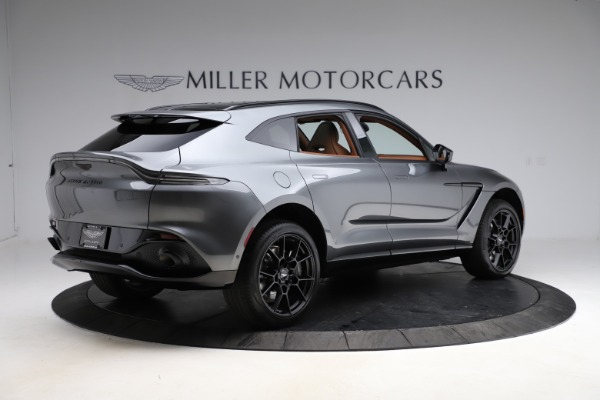 New 2021 Aston Martin DBX for sale $229,486 at Bugatti of Greenwich in Greenwich CT 06830 7