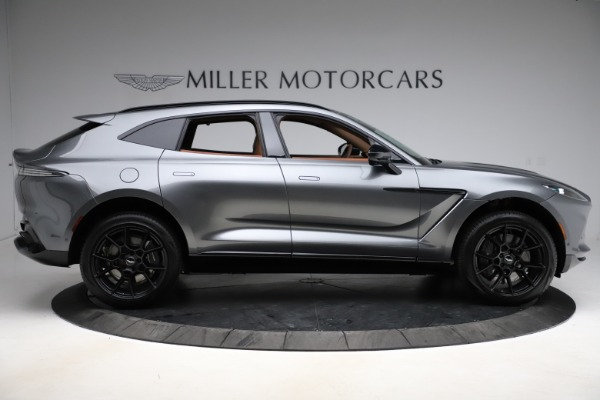 New 2021 Aston Martin DBX for sale $229,486 at Bugatti of Greenwich in Greenwich CT 06830 8