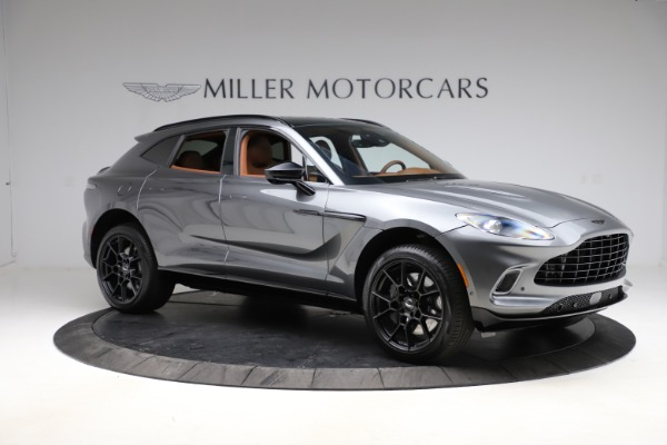 New 2021 Aston Martin DBX for sale $229,486 at Bugatti of Greenwich in Greenwich CT 06830 9
