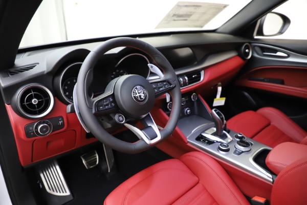 New 2020 Alfa Romeo Stelvio Ti Sport Q4 for sale Sold at Bugatti of Greenwich in Greenwich CT 06830 13