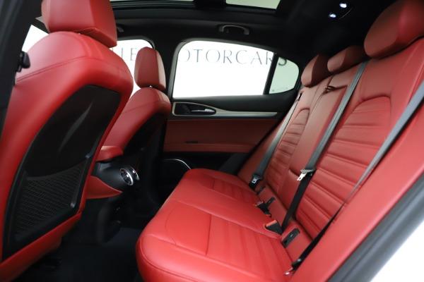 New 2020 Alfa Romeo Stelvio Ti Sport Q4 for sale Sold at Bugatti of Greenwich in Greenwich CT 06830 19