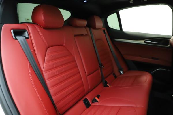 New 2020 Alfa Romeo Stelvio Ti Sport Q4 for sale Sold at Bugatti of Greenwich in Greenwich CT 06830 25