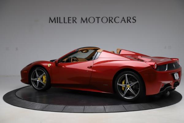 Used 2013 Ferrari 458 Spider for sale Sold at Bugatti of Greenwich in Greenwich CT 06830 4