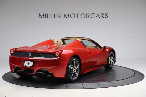 Used 2013 Ferrari 458 Spider for sale Sold at Bugatti of Greenwich in Greenwich CT 06830 7