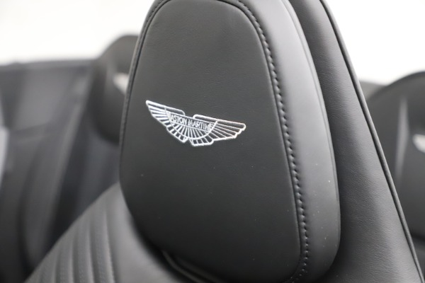 New 2021 Aston Martin DB11 Volante Convertible for sale $254,416 at Bugatti of Greenwich in Greenwich CT 06830 23