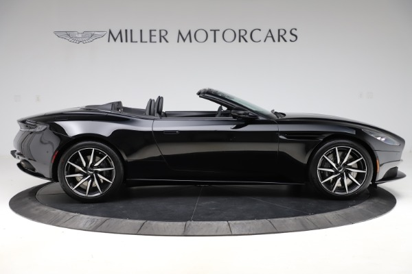 New 2021 Aston Martin DB11 Volante Convertible for sale $254,416 at Bugatti of Greenwich in Greenwich CT 06830 8