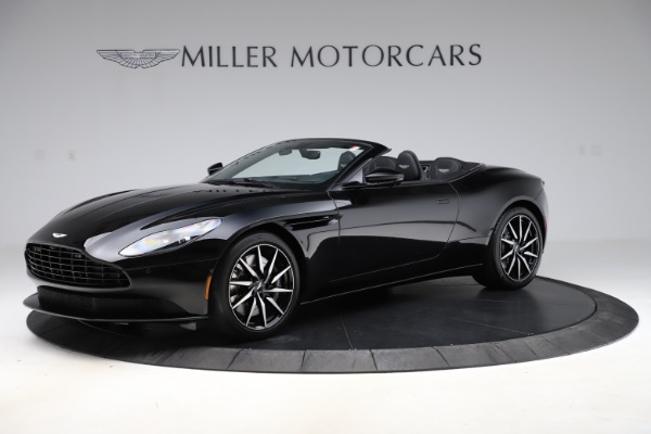 New 2021 Aston Martin DB11 Volante Convertible for sale $254,416 at Bugatti of Greenwich in Greenwich CT 06830 1