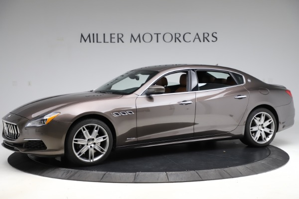 Used 2018 Maserati Quattroporte S Q4 GranLusso for sale Sold at Bugatti of Greenwich in Greenwich CT 06830 2