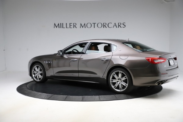 Used 2018 Maserati Quattroporte S Q4 GranLusso for sale Sold at Bugatti of Greenwich in Greenwich CT 06830 4