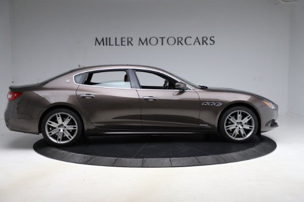 Used 2018 Maserati Quattroporte S Q4 GranLusso for sale Sold at Bugatti of Greenwich in Greenwich CT 06830 9