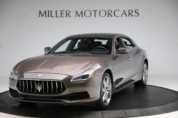 Used 2018 Maserati Quattroporte S Q4 GranLusso for sale Sold at Bugatti of Greenwich in Greenwich CT 06830 1