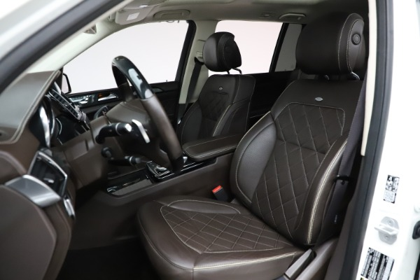 Used 2018 Mercedes-Benz GLS 550 for sale $67,900 at Bugatti of Greenwich in Greenwich CT 06830 18