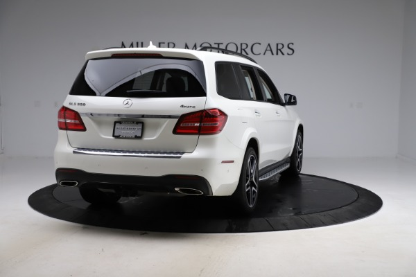 Used 2018 Mercedes-Benz GLS 550 for sale $67,900 at Bugatti of Greenwich in Greenwich CT 06830 7