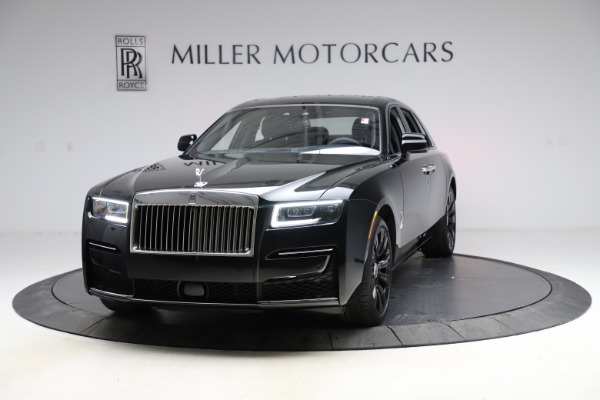 New 2021 Rolls-Royce Ghost for sale $374,150 at Bugatti of Greenwich in Greenwich CT 06830 2