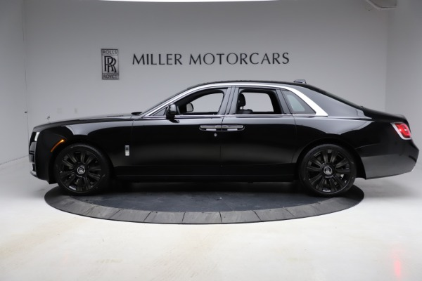 New 2021 Rolls-Royce Ghost for sale $374,150 at Bugatti of Greenwich in Greenwich CT 06830 4