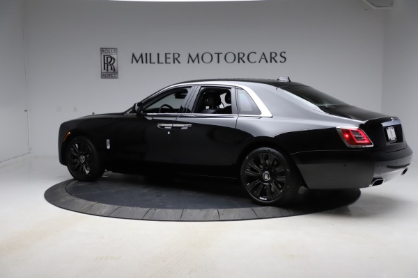 New 2021 Rolls-Royce Ghost for sale $374,150 at Bugatti of Greenwich in Greenwich CT 06830 5