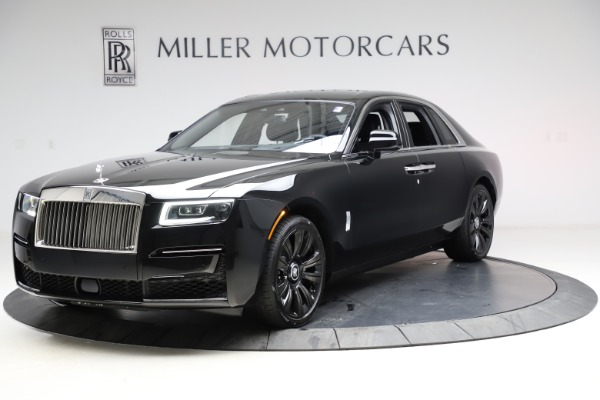 New 2021 Rolls-Royce Ghost for sale $370,650 at Bugatti of Greenwich in Greenwich CT 06830 3