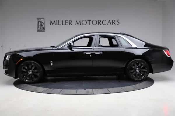 New 2021 Rolls-Royce Ghost for sale $370,650 at Bugatti of Greenwich in Greenwich CT 06830 4