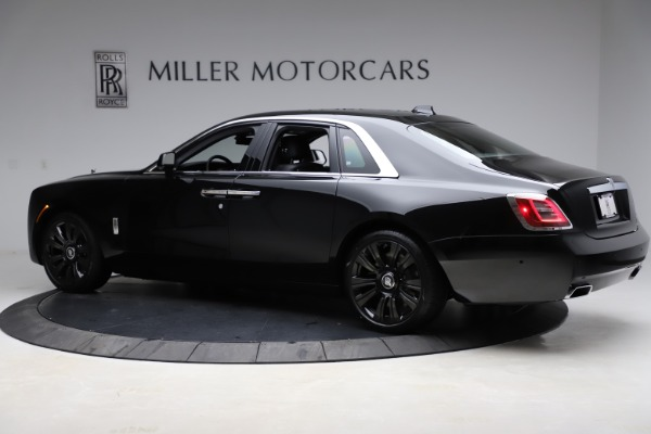 New 2021 Rolls-Royce Ghost for sale $370,650 at Bugatti of Greenwich in Greenwich CT 06830 5