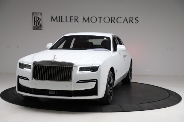 New 2021 Rolls-Royce Ghost for sale $390,400 at Bugatti of Greenwich in Greenwich CT 06830 2