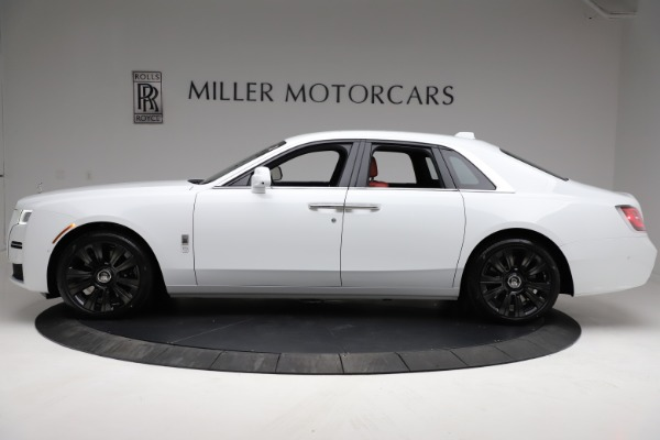 New 2021 Rolls-Royce Ghost for sale $390,400 at Bugatti of Greenwich in Greenwich CT 06830 4
