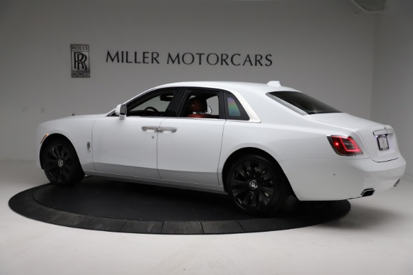 New 2021 Rolls-Royce Ghost for sale $390,400 at Bugatti of Greenwich in Greenwich CT 06830 5