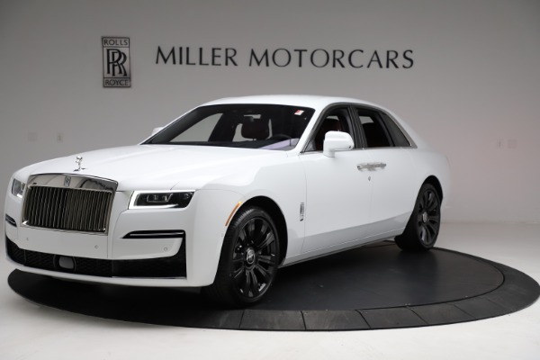 New 2021 Rolls-Royce Ghost for sale $390,400 at Bugatti of Greenwich in Greenwich CT 06830 1