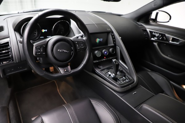 Used 2016 Jaguar F-TYPE R for sale $58,900 at Bugatti of Greenwich in Greenwich CT 06830 13