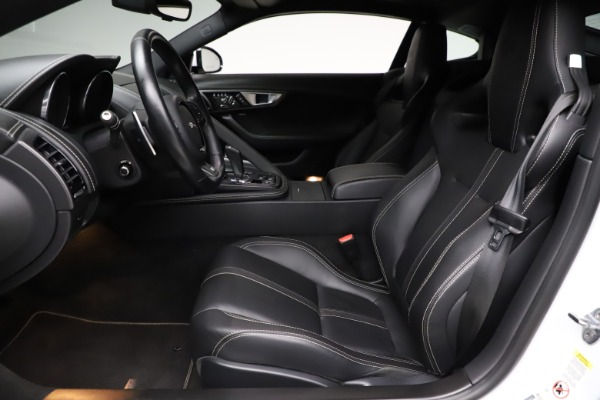 Used 2016 Jaguar F-TYPE R for sale $58,900 at Bugatti of Greenwich in Greenwich CT 06830 14
