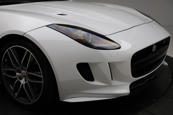Used 2016 Jaguar F-TYPE R for sale $58,900 at Bugatti of Greenwich in Greenwich CT 06830 27