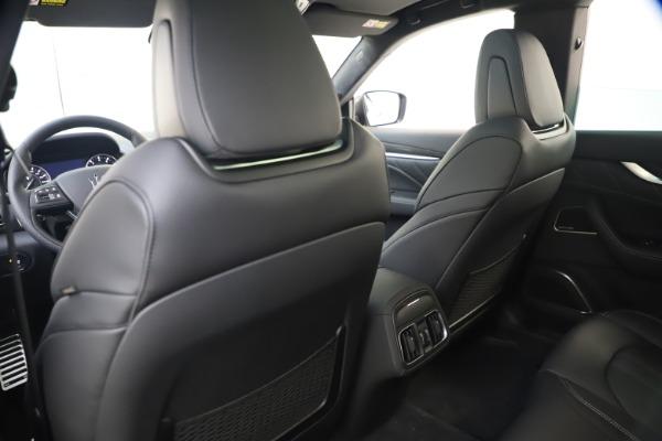 New 2021 Maserati Levante S Q4 GranSport for sale $107,135 at Bugatti of Greenwich in Greenwich CT 06830 21