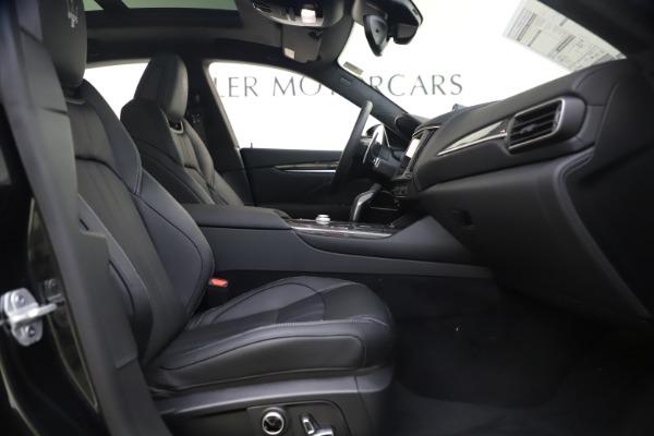 New 2021 Maserati Levante S Q4 GranSport for sale $107,135 at Bugatti of Greenwich in Greenwich CT 06830 24