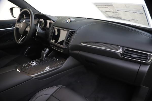 New 2021 Maserati Levante S Q4 GranSport for sale $107,135 at Bugatti of Greenwich in Greenwich CT 06830 25