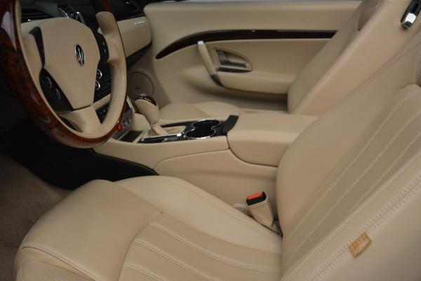 Used 2011 Maserati GranTurismo for sale Sold at Bugatti of Greenwich in Greenwich CT 06830 26