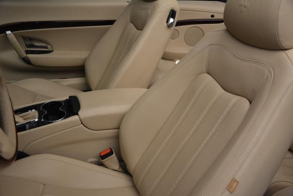 Used 2011 Maserati GranTurismo for sale Sold at Bugatti of Greenwich in Greenwich CT 06830 27