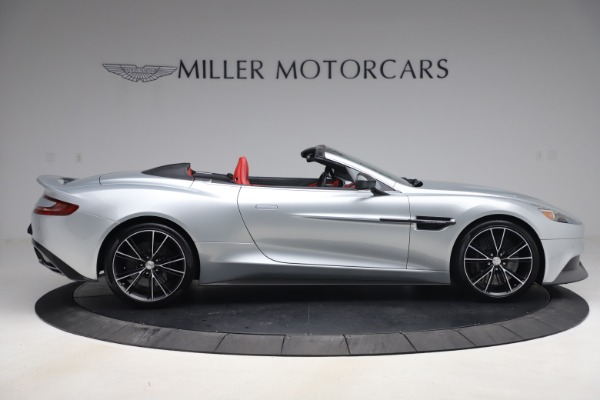 Used 2014 Aston Martin Vanquish Volante for sale $129,900 at Bugatti of Greenwich in Greenwich CT 06830 8
