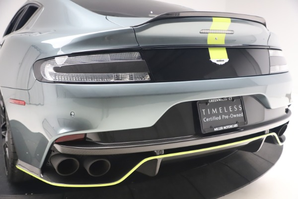 Used 2019 Aston Martin Rapide AMR Sedan for sale $187,900 at Bugatti of Greenwich in Greenwich CT 06830 26