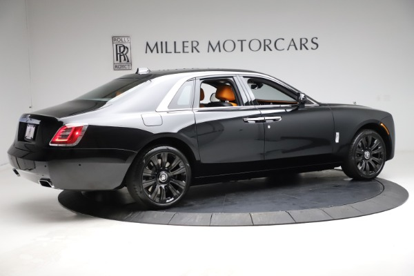 New 2021 Rolls-Royce Ghost for sale $381,100 at Bugatti of Greenwich in Greenwich CT 06830 10