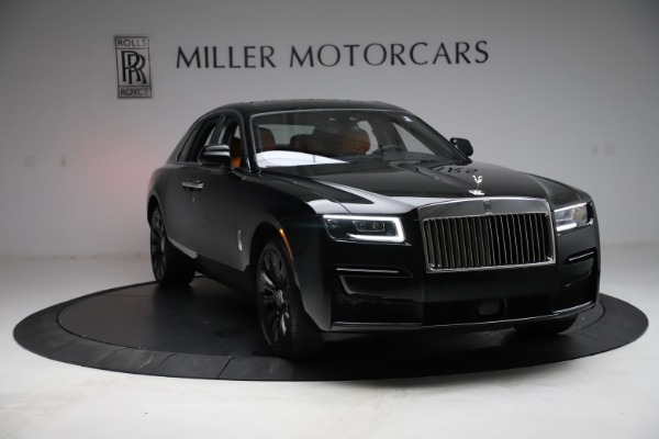 New 2021 Rolls-Royce Ghost for sale $381,100 at Bugatti of Greenwich in Greenwich CT 06830 14