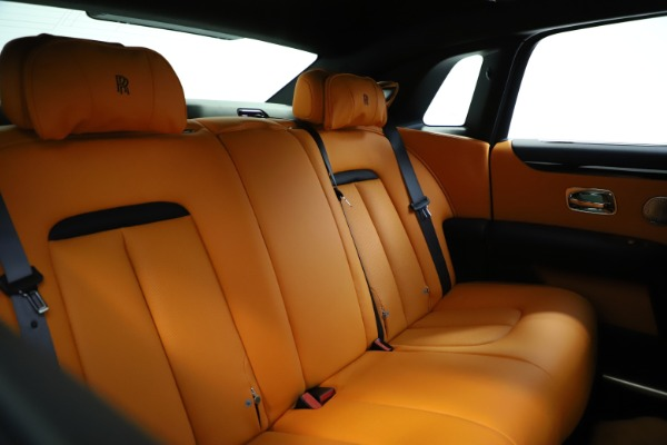 New 2021 Rolls-Royce Ghost for sale $381,100 at Bugatti of Greenwich in Greenwich CT 06830 20