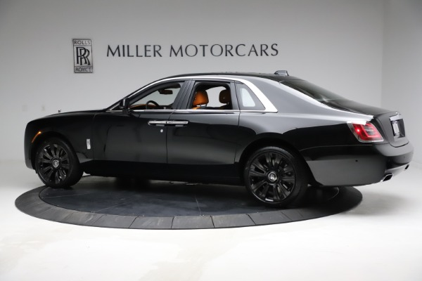 New 2021 Rolls-Royce Ghost for sale $381,100 at Bugatti of Greenwich in Greenwich CT 06830 5
